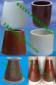 承压绝缘子电瓷套筒锥形瓷套电捕焦瓷套支撑瓷套95瓷套高压瓷缸